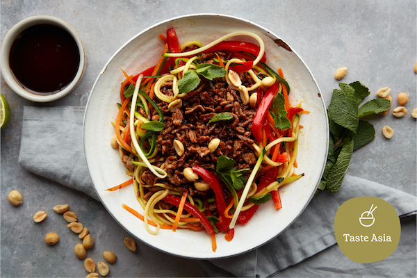 enjoy a light and healthy asian recipe this summer with Mindful Chef